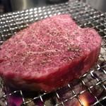 焼肉どんどん - ☆刺しっけも程よくジューシーなフィレ肉です(*^。^*)☆