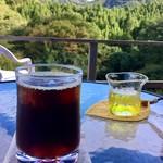 遊森歩 - ケーキセットのアイスコーヒー