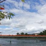 しゅばく - 宇治川にかかる朝霧橋
