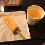 日本橋だし場 - かつおだし+卵焼き