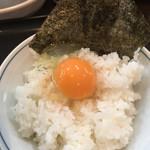 niboshira-menaoki - 卵かけご飯