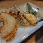 寿海千丸店 - 天ぷら盛り合わせ