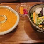 三日月食堂 - かぼちゃカレーセット