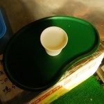 栗駒フーズ - 先ずサービスで牛乳頂きました