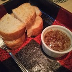 焼き鳥 梵ろ - レバーパテ(キャラメリゼされて出てきます!デザートでも良いくらい甘いです。)
