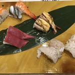 寿司の美登利総本店 - 子供たちの握り2