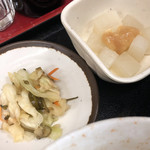 94125609 - 定食小鉢とお新香