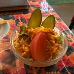 インドカレーヘブン - サラダ