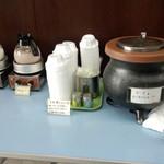 近江屋洋菓子店 - ホットドリンク