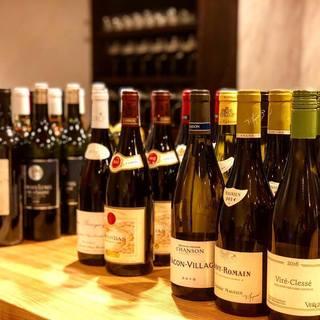 L'ORANGEのワインリスト