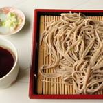 平九郎茶屋 - もりそば 650円