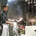 和食Labo 新た - 何やらファイヤーしてはります