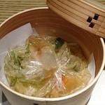 和食Labo 新た - ◆秋鱧と松茸包み蒸し