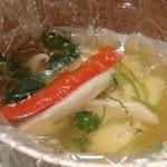和食Labo 新た - 松茸の良い香りが鼻孔を刺激します