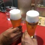 和楽路屋 - 生ビールで乾杯!
