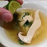 和食Labo 新た - 酢橘を搾るとサッパリ