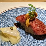和食Labo 新た - ◆黒毛和牛にく寿司