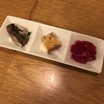 菜園マイクロブルワリー with Kitchen - お通し
