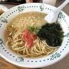グリーンコーナー - 料理写真:てんかけらーめん(税込370円)