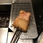 串揚三昧 幸華 - 鮭とベーコンのブラックペッパー