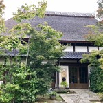 カフェ ド  珈茅 - 新潟から移築した茅葺の一軒家