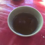 水源茶屋 - そば茶(サービス)