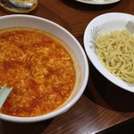 94138045 - 2018.9.27  【トマトタンタンメン (つけ麺)】  800円