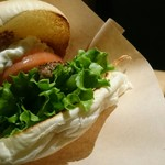 the 3rd Burger - 鴨&アップルクリームチーズバーガー¥590