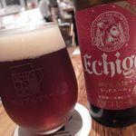 川口ブルワリー - エチゴビールのレッドエール(330ml)500円