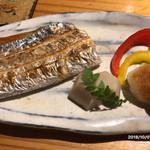 藤もと - 太刀魚の塩焼き