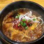 辛つけ麺専門 カラツケ グレ - ニクカラ つけ汁