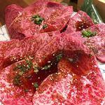 焼肉ぽんがLA - タレシリーズの、リブシン、シンシン、いちぼ。