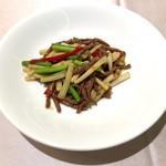 翠林 - 牛肉と野菜の炒め物