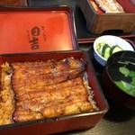 日吉 - 料理写真:うな重(竹)