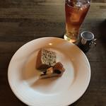 BACIO - アイスティー・紅茶のシフォンケーキ&ぶどうのタルト