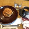 ネイバーフッド アンド コーヒー - 料理写真:エスプレッソダブルとバターミルクビスケットで961円