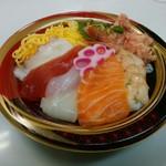鮮宴丼ひろし - 「ミニだけど豪華丼」