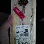 グッディーベーカリー - 料理写真:ツナエッグサンド 229円