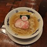 中華蕎麦にし乃 - 中華そば(\750)
