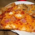 94154878 - 本日のピザ:カマンベールとベーコン