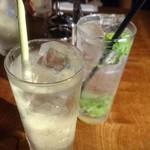 タイ東北料理イサーンキッチン - ・パクチー&レモングラスサワー ¥650 ・ジンジャー&レモングラスサワー ¥650