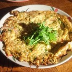 タイ東北料理イサーンキッチン - カイジャオ ラープ ¥850