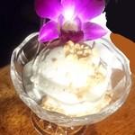 タイ東北料理イサーンキッチン - ココナッツアイス ¥550