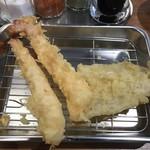 天ぷらの山 - 海老&きす