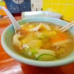 てら屋 - 料理写真:チャンポン 700円(税込)