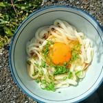 三嶋製麺所 - あついと卵