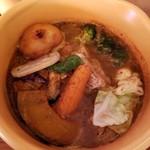 カリー小屋 - チキン野菜(スパイシー) 1250円