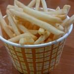 とんかつ三丁目 - 料理写真:山盛りポテト