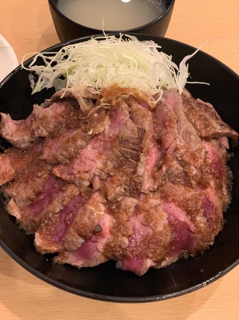 the肉丼の店 吉祥寺店 - やわらかランプステーキ丼 950円