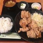 一番どり - テンカラ定食 (´∀`)/ 18個あるとのこと いちいちチェックせず「数分で着丼」とか言うのはやりそうだけどね…